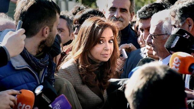 Cristina Kirchner, frente al juez Bonadio