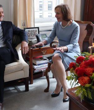 La cargada agenda de Macri en Nueva York