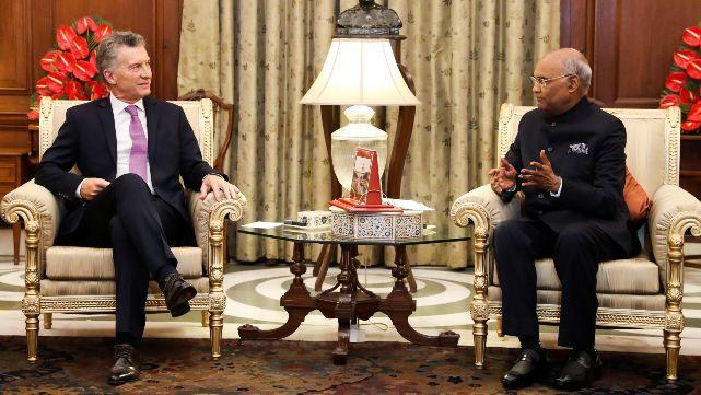 Macri firmó acuerdos estratégicos con la India